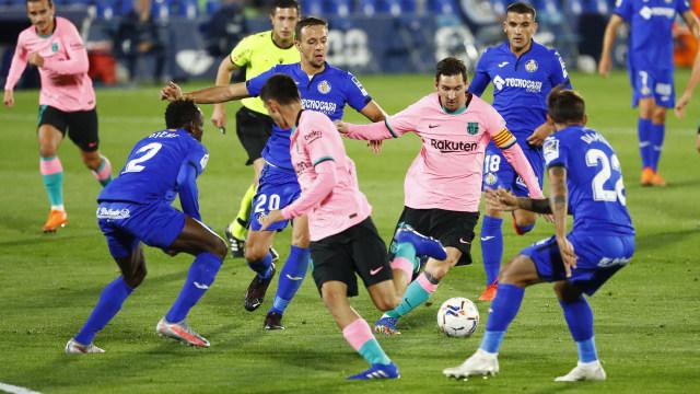 Getafe vs Barcelona: Blaugrana Telan Kekalahan Perdana di Liga Spanyol Musim Ini (66519)