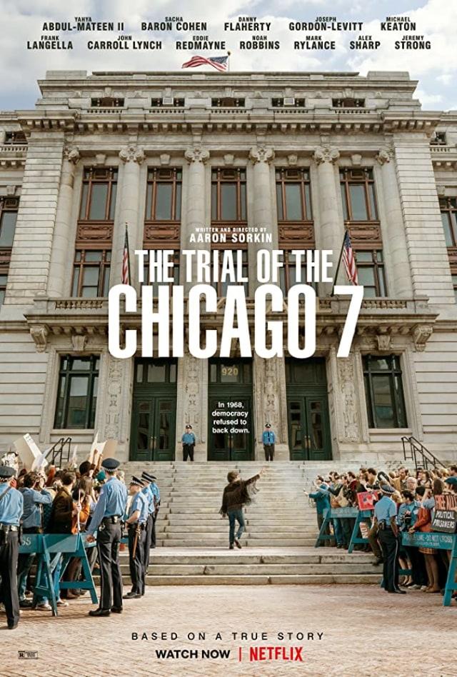 Review 'The Trial of Chicago 7: Aktivisme dan Pengadilan Politik yang Relatable  (5528)