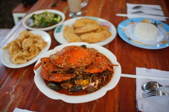 Kepiting Nyablak: Surga Bagi Pecinta Seafood di Lampung, Bumbunya Medok! (9045)