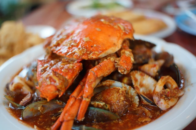 Kepiting Nyablak: Surga Bagi Pecinta Seafood di Lampung, Bumbunya Medok! (9046)