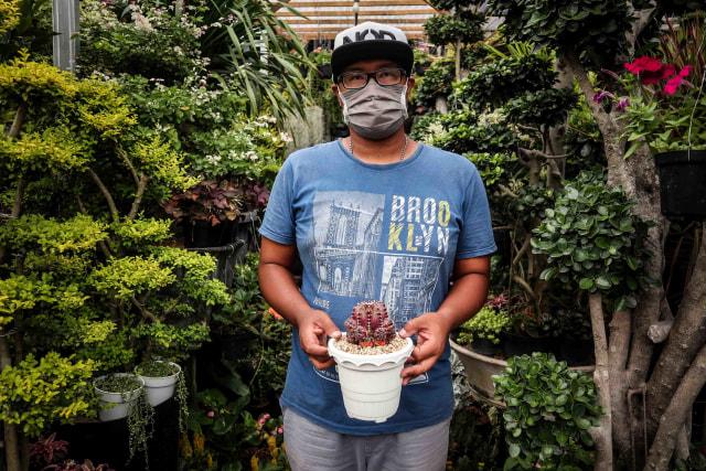 Foto: Segarnya Bisnis Bunga Hias saat Pandemi (7049)
