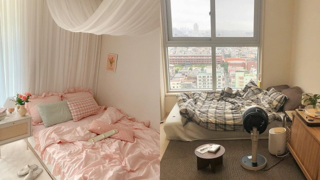 Tips Dekorasi Kamar Tidur Bergaya Korea, Simple dan Mudah Dilakukan (8440)