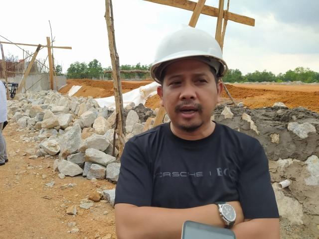 Tinjau Proyek Jerambah Gantung, DPRD Pangkalpinang Sebut Pekerjaan Tak Safety (31010)