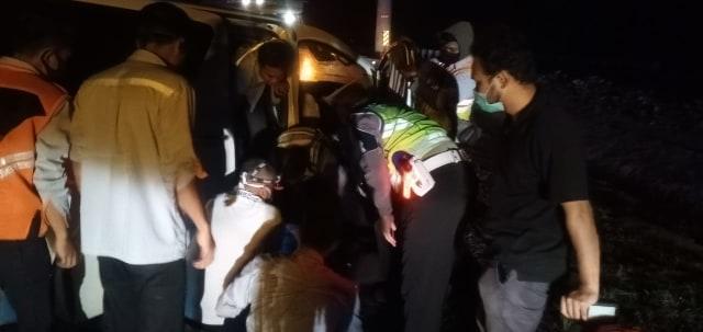 Kecelakaan Hanafi Rais di Tol Cipali Ditangani Polres Subang (130990)