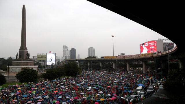 Aksi Pro-demokrasi Thailand, Hostel di Bangkok Tawarkan Tempat Berlindung Gratis (23764)