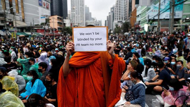 Aksi Pro-demokrasi Thailand, Hostel di Bangkok Tawarkan Tempat Berlindung Gratis (23766)