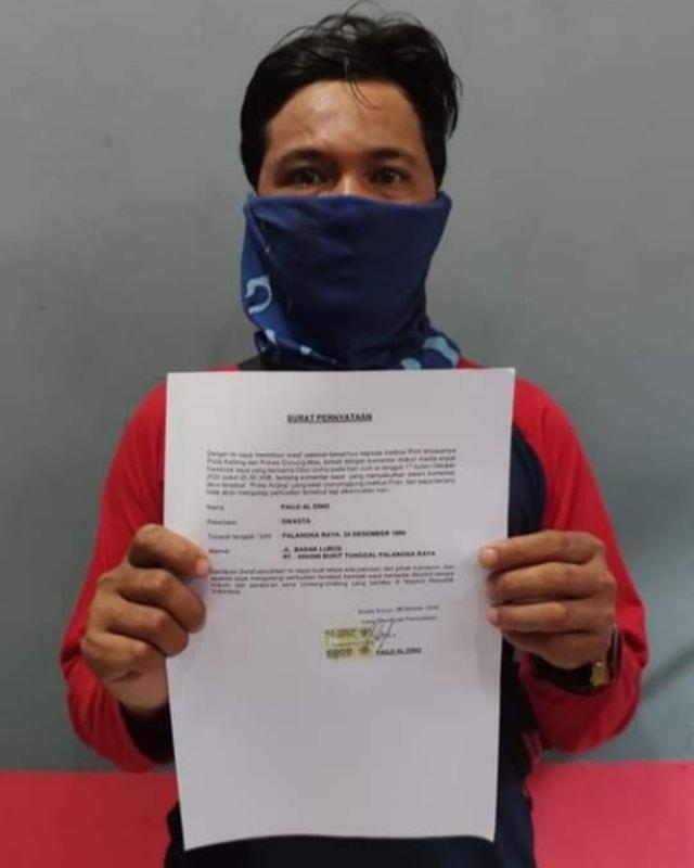 Hina Polisi di Facebook, Pria di Kalimantan Tengah Disuruh Minta Maaf (35468)