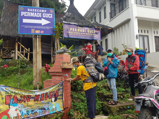 Cegah Corona, Pendaki Gunung Slamet Harus Bawa Surat Keterangan Sehat (99125)