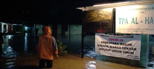 24 Rumah Warga di Bangka Tengah Terendam Banjir (9759)