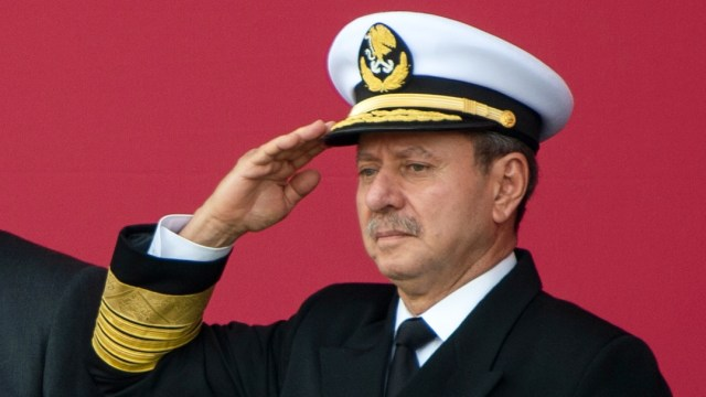 Kepala Angkatan Laut Meksiko Jose Rafael Ojeda Positif Corona (21089)