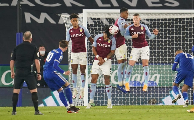 Leicester City vs Aston Villa: Dramatis, Tim Tamu Menang via Gol di Injury Time (98983)