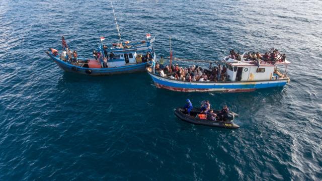 Kapal Pengungsi Rohingya Terpantau di Selat Malaka, Berjarak 80 Mil dari Aceh (15633)
