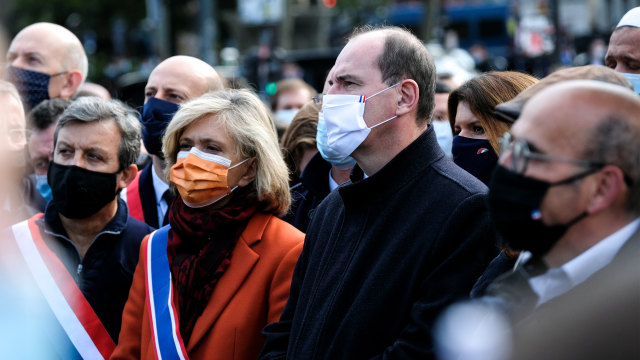 PM Prancis Ikut Aksi Solidaritas Terhadap Guru yang Dipenggal karena Kartun Nabi (125165)