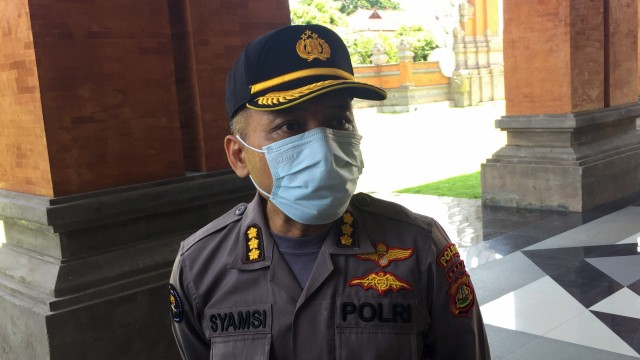 Polisi Imbau Warga Bali Tak Terprovokasi Brosur Penjarahan Tolak Omnibus Law (6282)