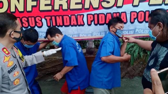 Tim Resmob Brebes Ringkus Kawanan Pembobol Minimarket  (83119)