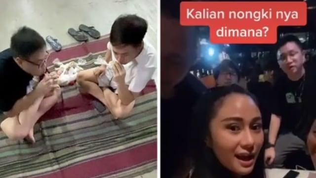 Respons soal 'Orang Kaya Nongkrong di Mal', Crazy Rich Surabayan Makan Lesehan (538880)
