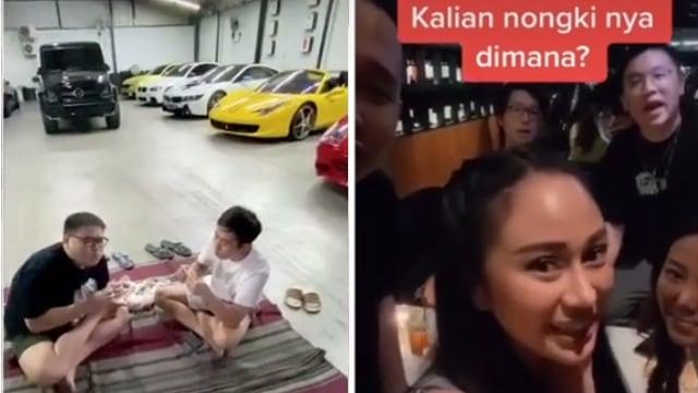 Respons soal 'Orang Kaya Nongkrong di Mal', Crazy Rich Surabayan Makan Lesehan (538881)