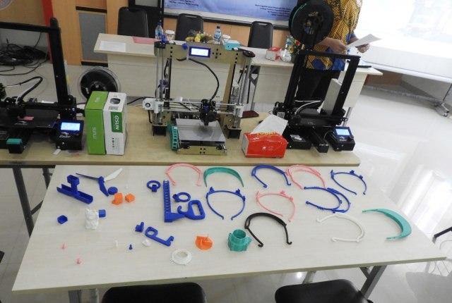 Itera Latih Sukarelawan Membuat APD Gunakan Teknologi Printer 3D (400483)