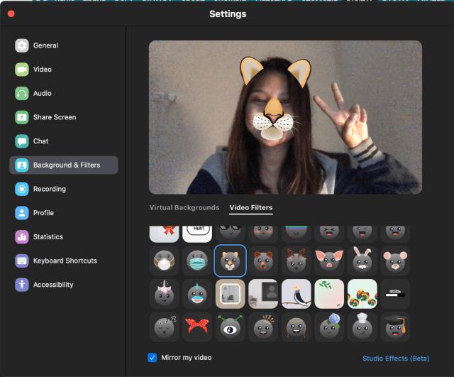Zoom Punya Filter ala Snapchat untuk Video Call, Begini Cara Pakainya (312787)