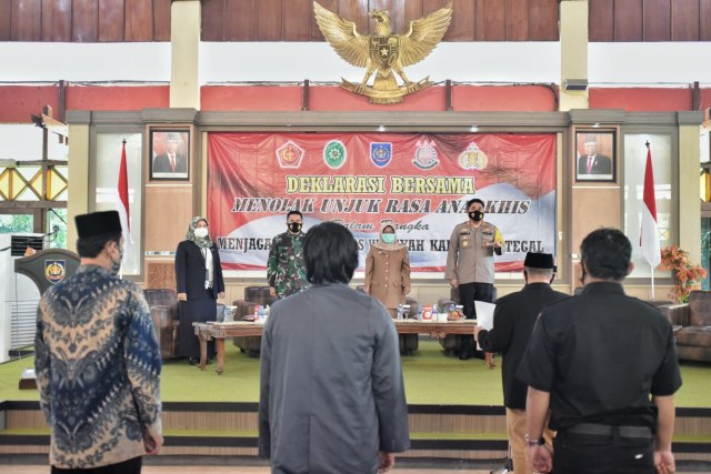 Bupati Tegal Yakin UU Cipta Kerja Sejahterakan Rakyat (91026)