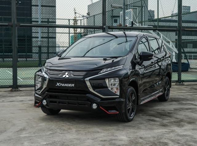 Foto: Lebih Sporty, Begini Wujud Mitsubishi Xpander Black Edition (1049)