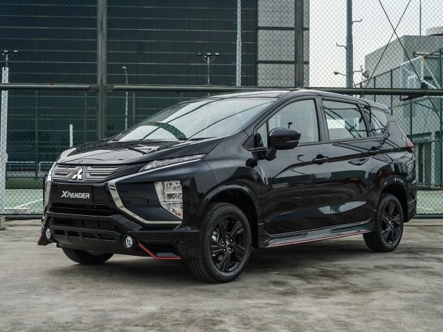 Foto: Lebih Sporty, Begini Wujud Mitsubishi Xpander Black Edition (1050)