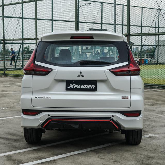 Foto: Lebih Sporty, Begini Wujud Mitsubishi Xpander Black Edition (1047)