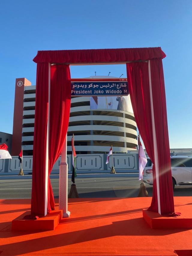 Pemerintah UEA Resmikan Nama Jalan Presiden Jokowi di Abu Dhabi (2)