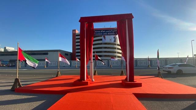 Pemerintah UEA Resmikan Nama Jalan Presiden Jokowi di Abu Dhabi (1)