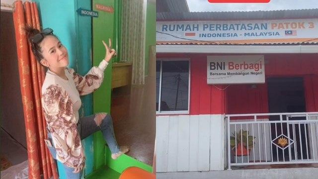 Lintas Negara, Rumah Ini Ruang Tamunya di Indonesia tapi Dapur di Malaysia (326207)