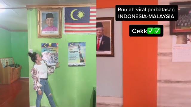 Lintas Negara, Rumah Ini Ruang Tamunya di Indonesia tapi Dapur di Malaysia (326208)
