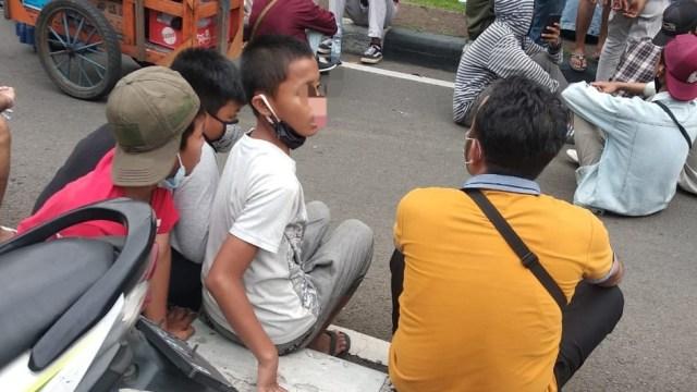 171 Pelajar Diamankan Polisi Saat Demo 20 Oktober 2020