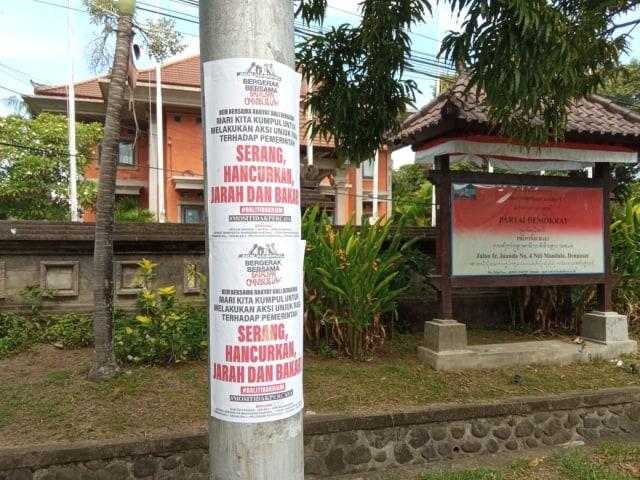 Kapolda Bali Soal Brosur Penjarahan: Hanya Provokasi, Tak Buat Saya Gentar (10438)