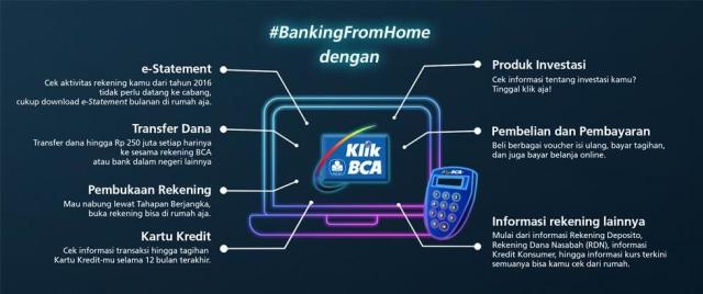 KlikBCA Tawarkan Banking from Home Anti Ribet (1868)