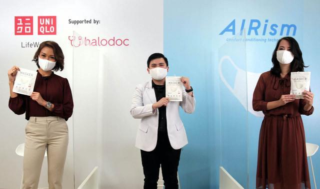 UNIQLO Rilis Masker Kain AIRism yang Bisa Tangkal Bakteri hingga 99 Persen (454535)