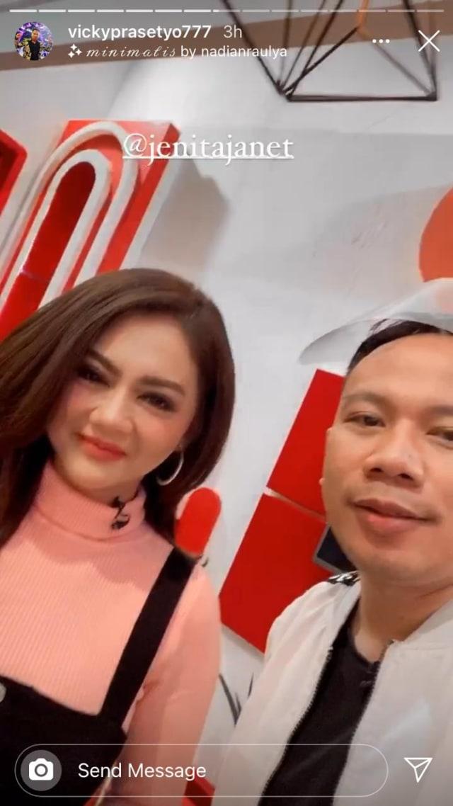 Titip Salam untuk Pacar Jenita Janet, Vicky Prasetyo Diminta Tegar dan Sabar (560203)