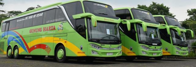 Warga Madura Kini Bisa Naik Bus PO Gunung Harta Bersasis Mercedes-Benz (39558)