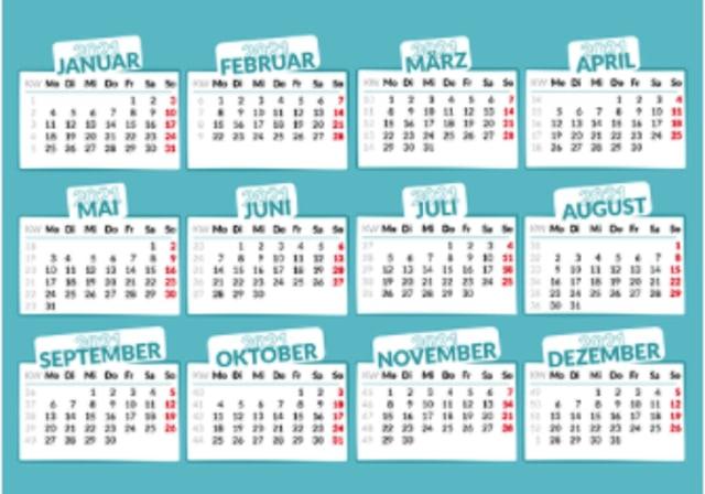 Kalender 2021, Catat Cuti Bersama dan Hari Libur Nasionalnya! (1507)
