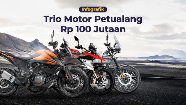 Komparasi Motor Petualang: KTM 390 Adventure, BMW G 310 GS, dan RE Himalayan (160236)