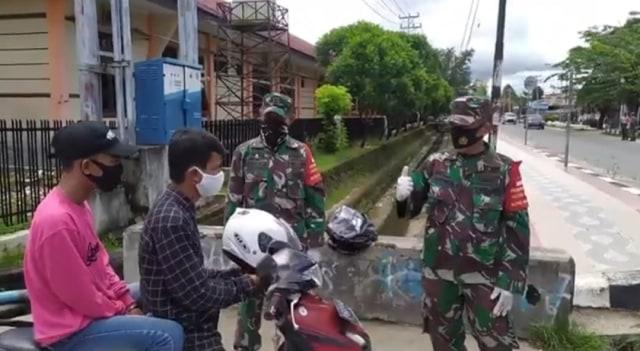 Denda Rp 45 Juta Dikumpul dari 2.626 Pelanggar Operasi Masker di Kota Sorong (33705)