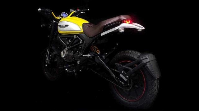 Lifan Hunter 125, Tiruan Ducati Scrambler Icon Seharga Rp 25 Juta (146711)