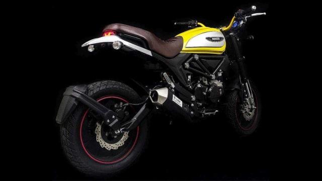 Lifan Hunter 125, Tiruan Ducati Scrambler Icon Seharga Rp 25 Juta (146713)