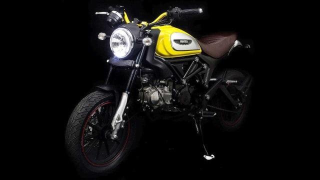 Lifan Hunter 125, Tiruan Ducati Scrambler Icon Seharga Rp 25 Juta (146710)