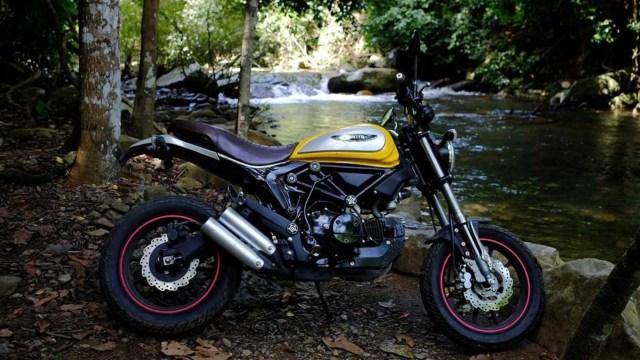 Lifan Hunter 125, Tiruan Ducati Scrambler Icon Seharga Rp 25 Juta (146709)
