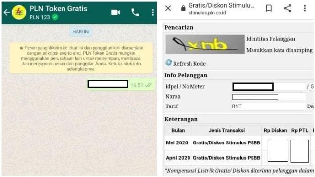 Token Listrik Gratis Bisa Dipesan Melalui WhatsApp (315474)