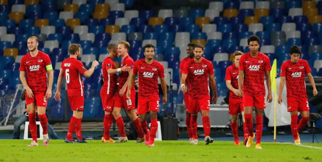 Ketika AZ Alkmaar Permalukan Napoli dengan 13 Pemain Absen karena Corona (26298)