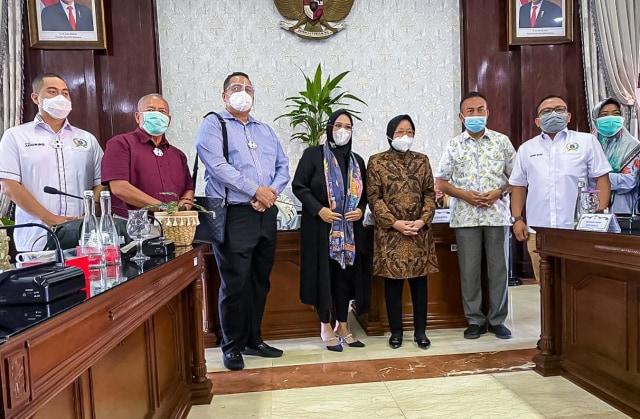 Kata Wagub DKI soal DPRD DKI Diskusi dengan Risma Bahas Solusi Banjir (1012)