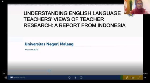 Sastra Inggris Universitas Negeri Malang Bagikan Tips Jadi Pengajar Profesional (24301)