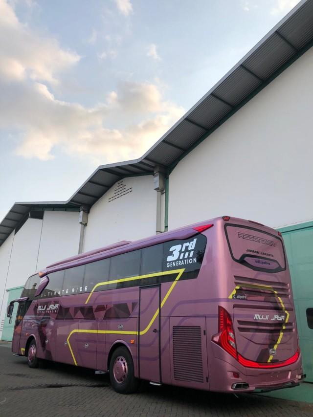 PO Muji Jaya Putra Mandiri Punya Bus Baru Bersuspensi Udara, Intip Fasilitasnya (119636)