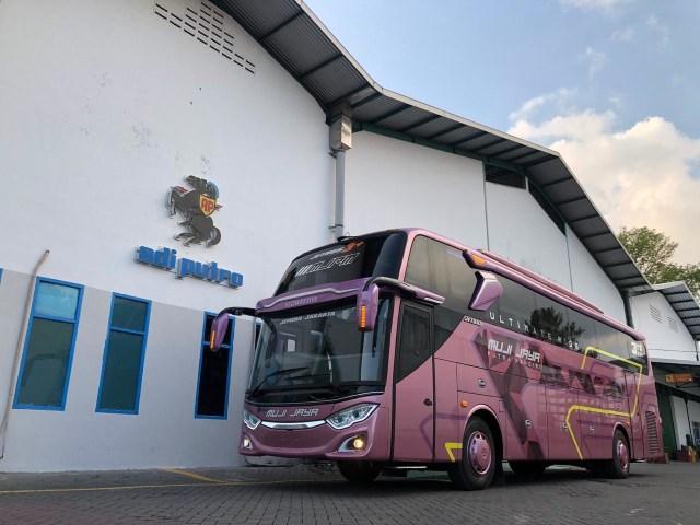 PO Muji Jaya Putra Mandiri Punya Bus Baru Bersuspensi Udara, Intip Fasilitasnya (119635)